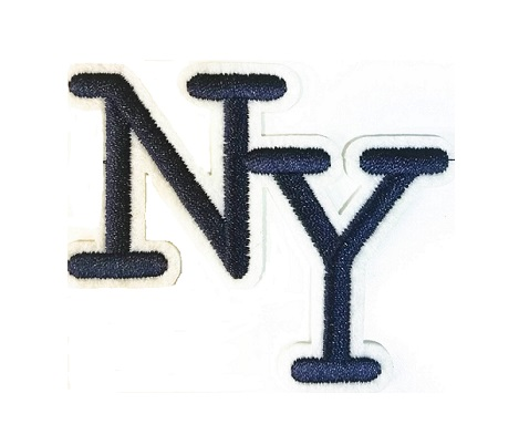 фото Термо-аппликация NY (Нью-Йорк) 70 мм х 55 мм (TBT.TEP.5.2)
