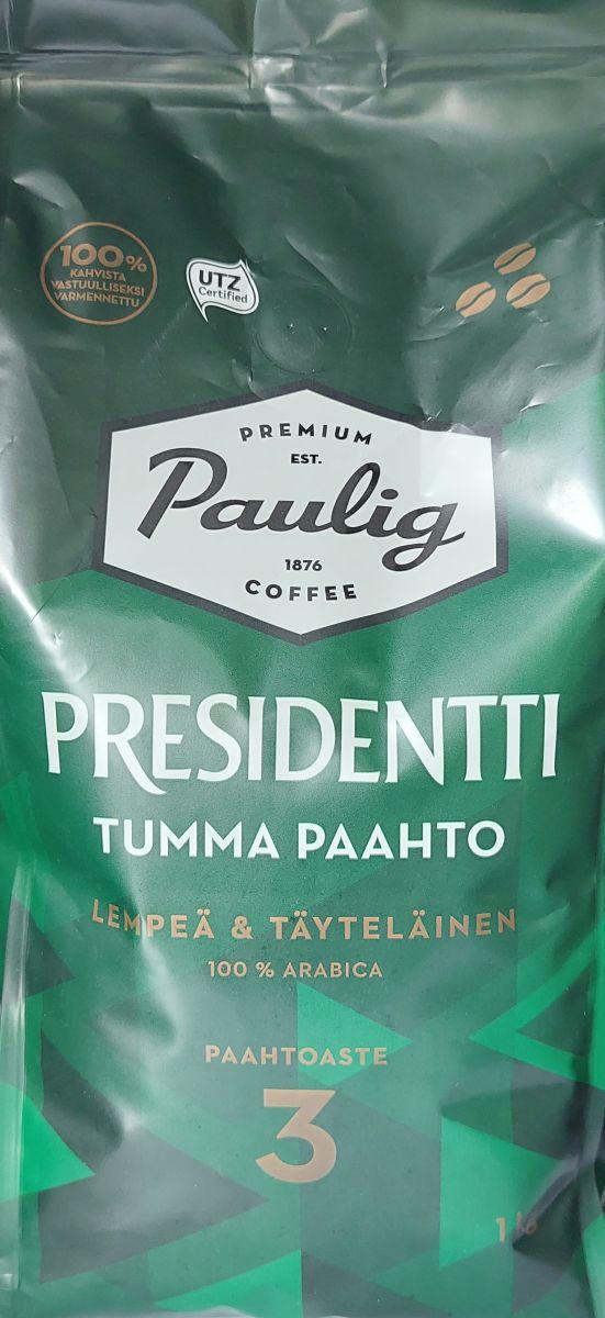 Кофе в зернах Paulig Presidentti (3) 1кг