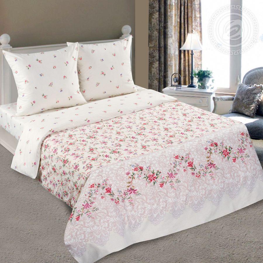 «Камилла» (DE LUXE) постельное белье Поплин 2-х спальный