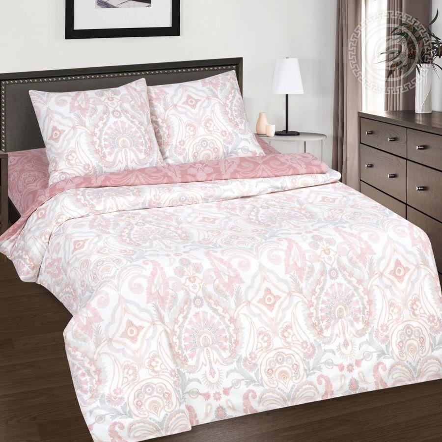 «Карлита» (DE LUXE) постельное белье Поплин Евро