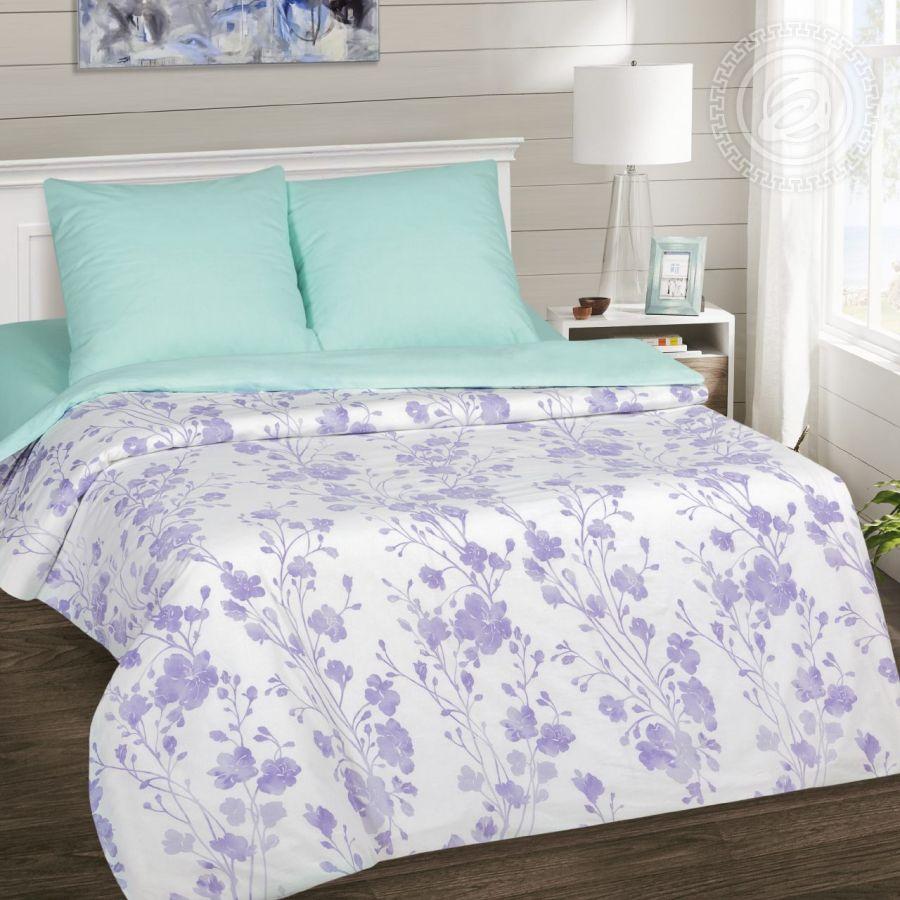 «Кармелита» (DE LUXE) постельное белье Поплин 2-х спальный
