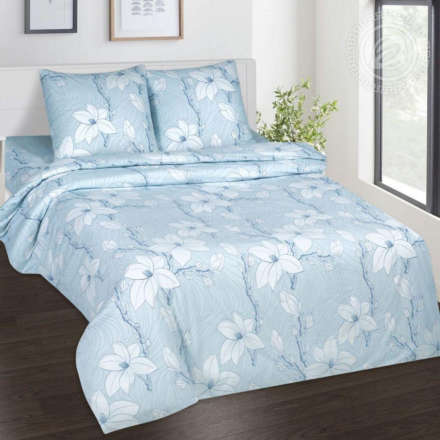 «Лейла» (DE LUXE) постельное белье Поплин 1.5 спальный