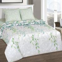 «Лиана» (DE LUXE) постельное белье Поплин 2-х спальный с евро