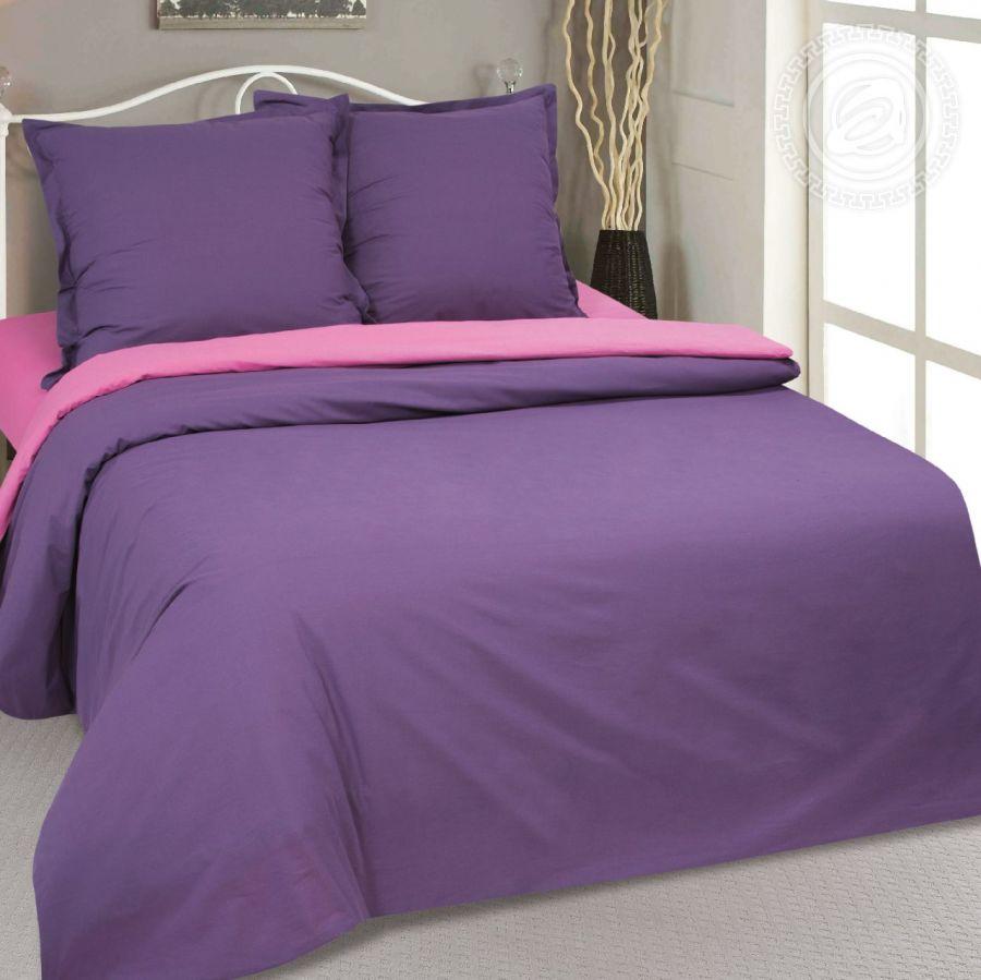 «Фиалка» постельное белье Поплин 1.5 спальный
