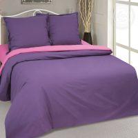 «Фиалка» постельное белье Поплин 2-х спальный с евро