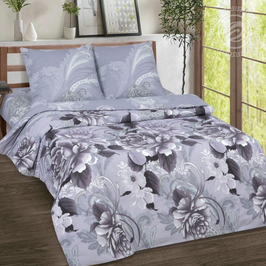 «Шанель» (DE LUXE) постельное белье Поплин Семейный