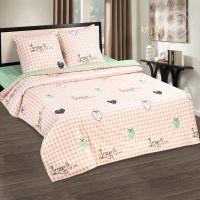 «Вкус лета» (DE LUXE) постельное белье Поплин 1.5 спальный