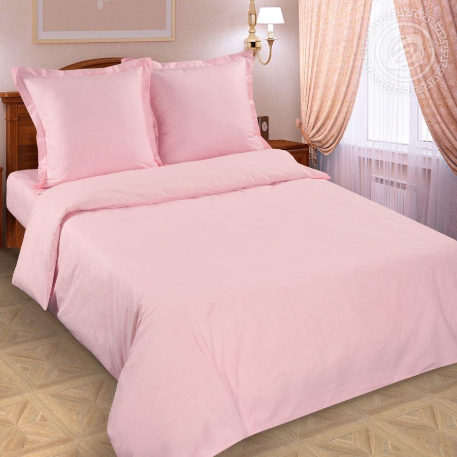 «Роза» (DE LUXE с простынью на резинке) постельное белье Поплин Семейный