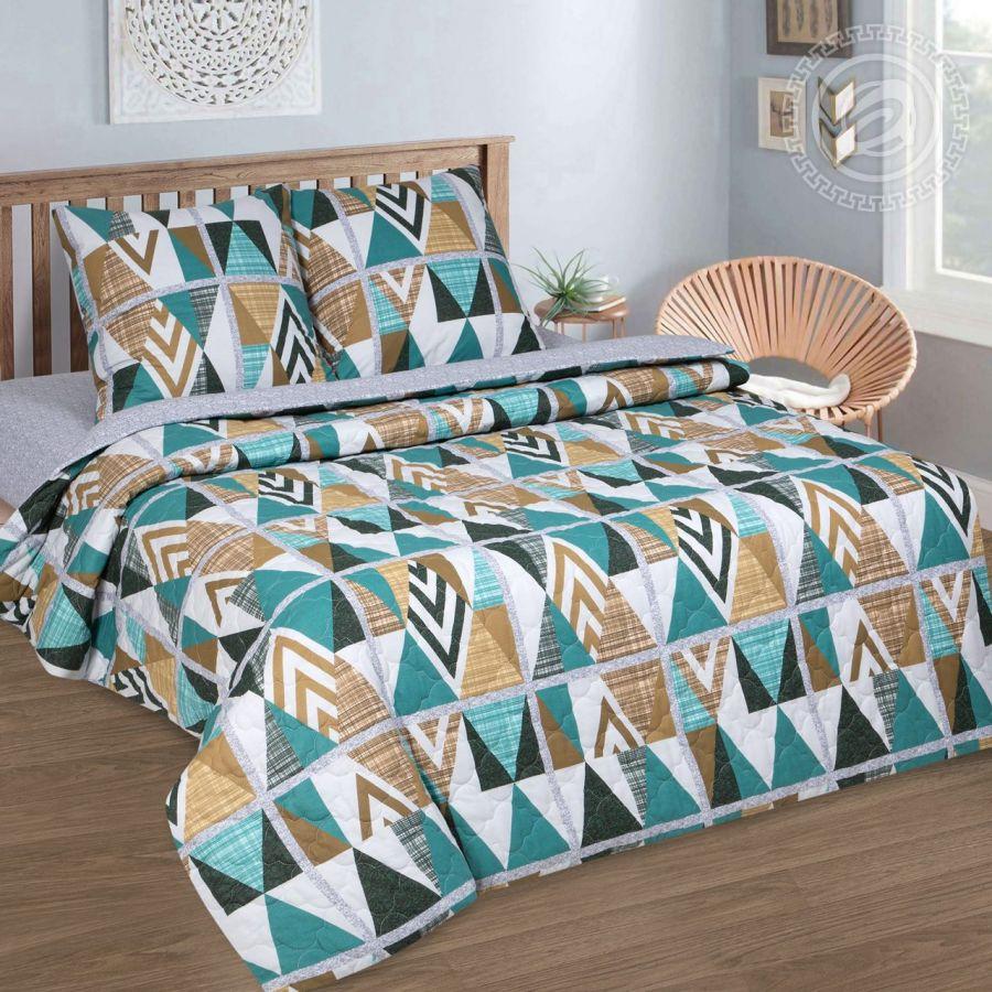 «Апачи» (Зима - лето) постельное белье Поплин 1.5 спальный