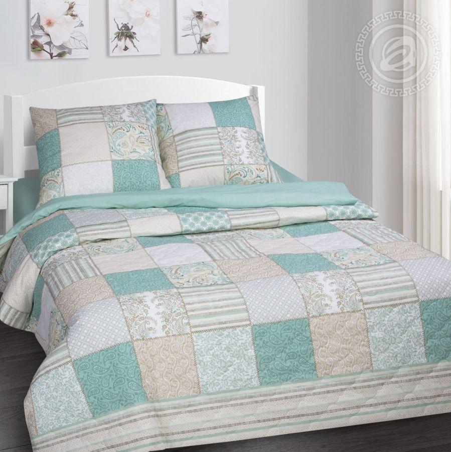 «Мелисса» (Зима - лето) постельное белье Поплин Евро