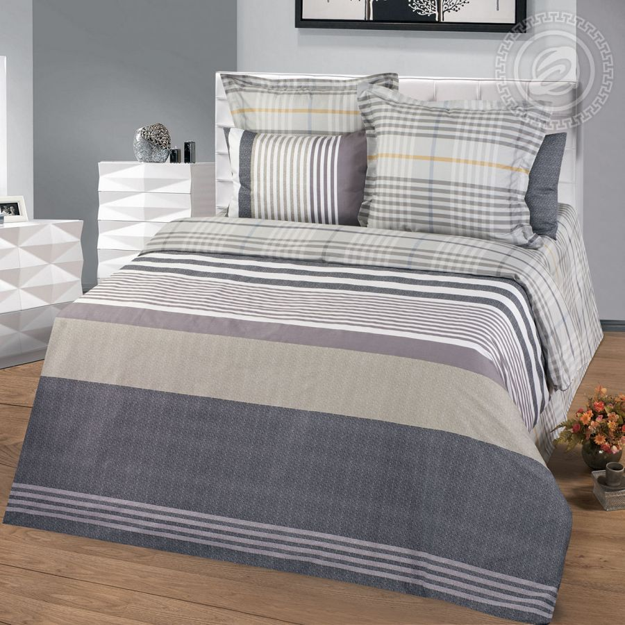 «Фредерик» постельное белье Сатин 2-х спальный с евро