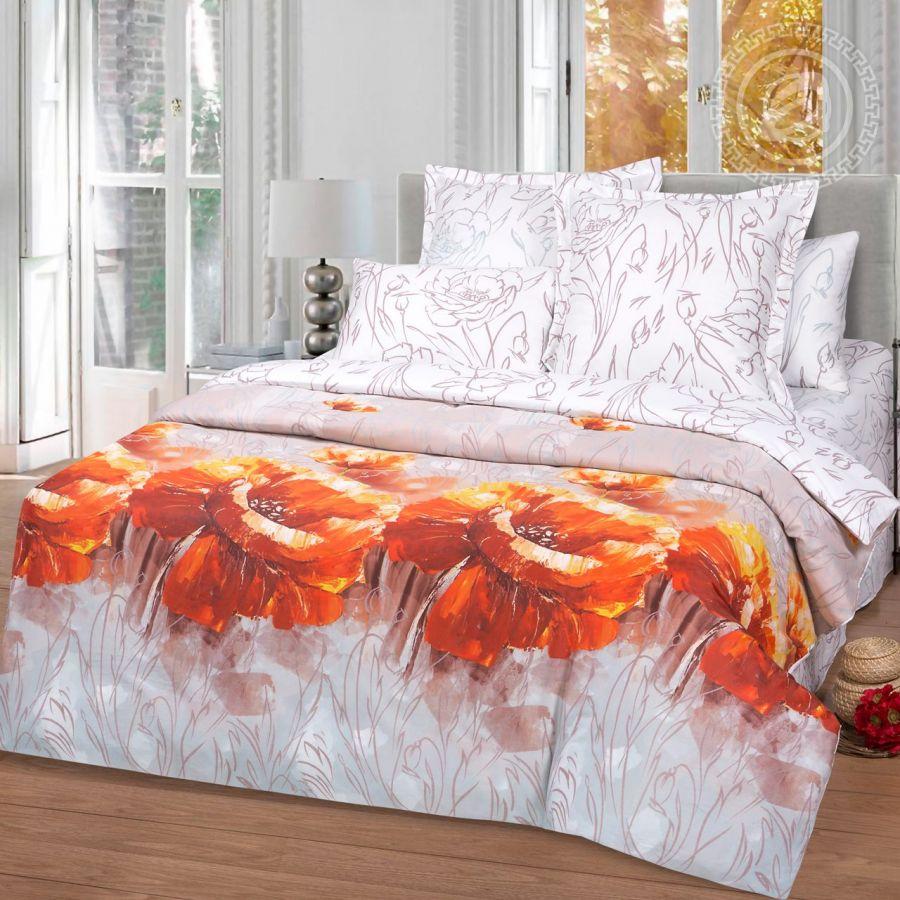«Ассоль» постельное белье Сатин 2-х спальный с евро