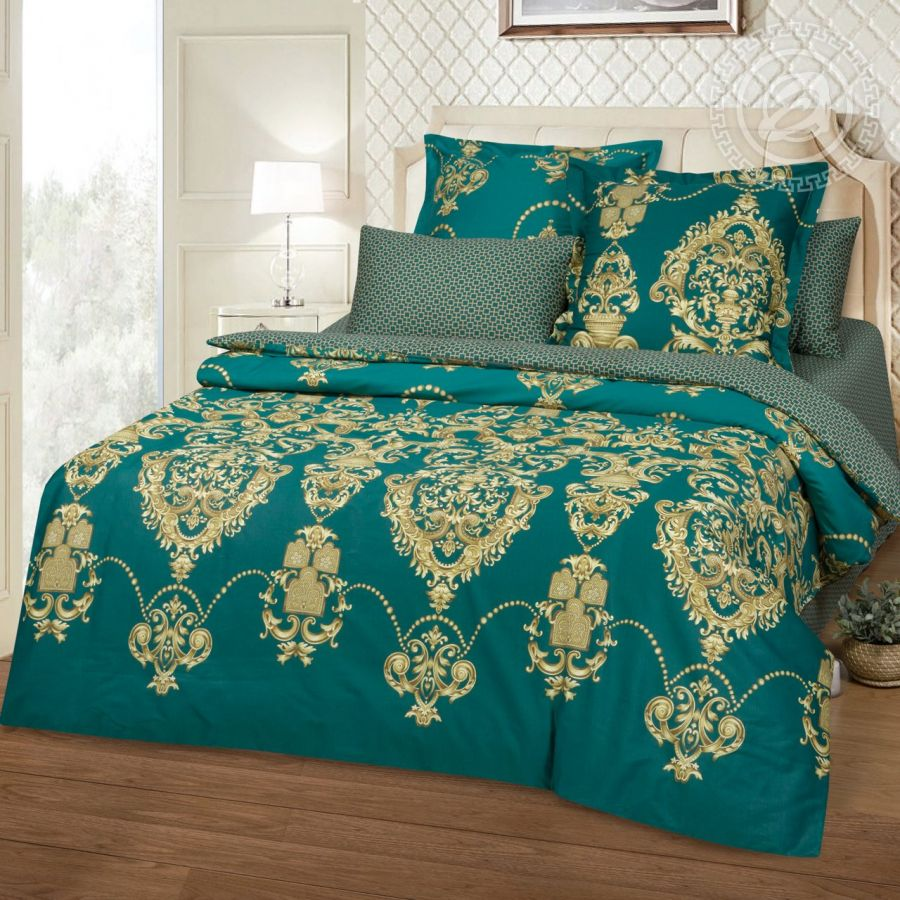 «Империя» постельное белье Сатин 2-х спальный с евро