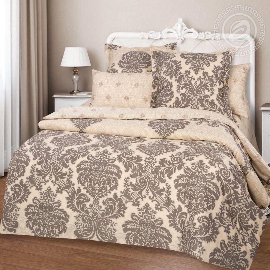 «Канары» постельное белье Сатин 1.5 спальный