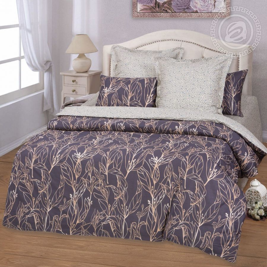 «Макао» (Premium) постельное белье Сатин 1.5 спальный