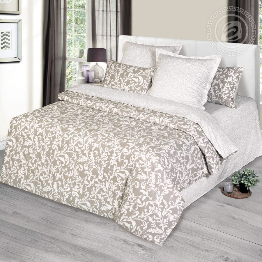 «Калеб» (Premium) постельное белье Сатин Семейный