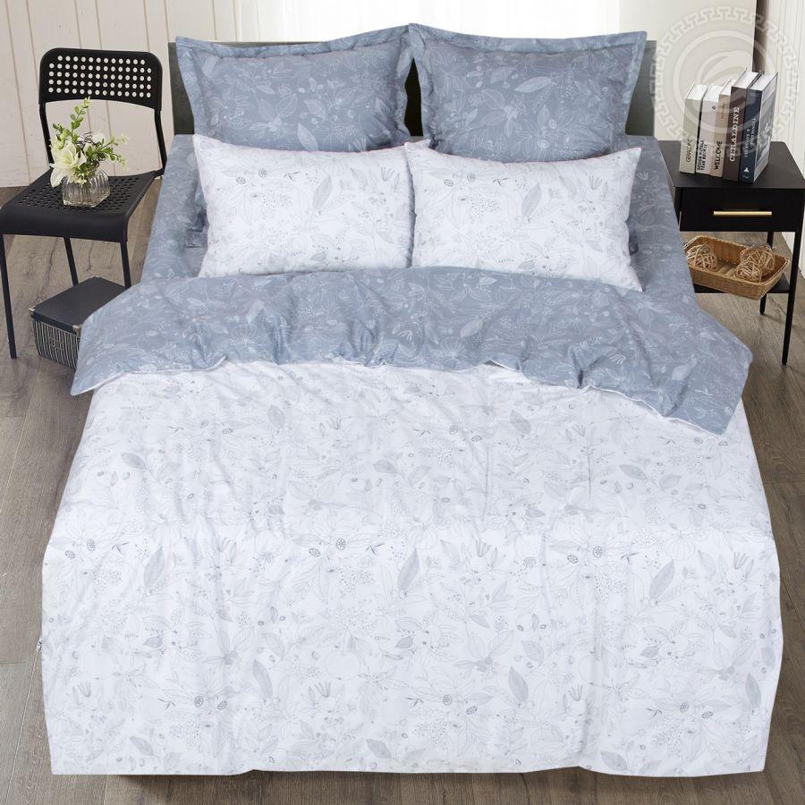 «Катерина» (Premium) постельное белье Сатин 2-х спальный с евро