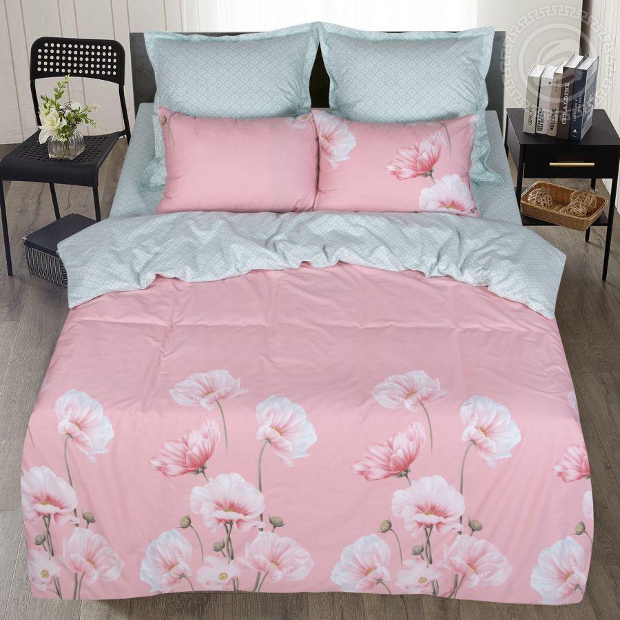 «Магия цветов» (Premium) постельное белье Сатин 2-х спальный с евро