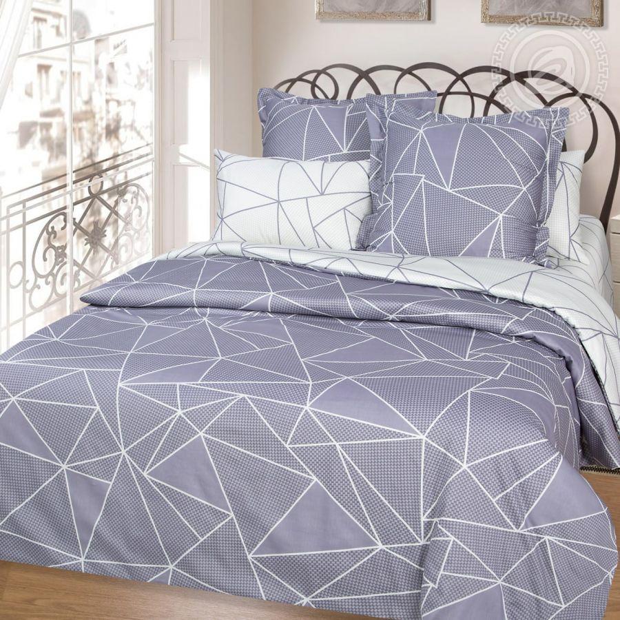 «Вентура» постельное белье Сатин 2-х спальный с евро