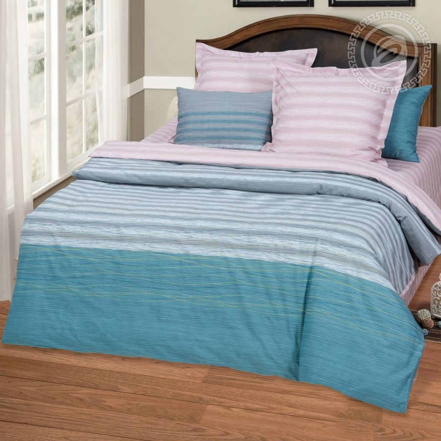 «Брут» постельное белье Сатин 2-х спальный с евро
