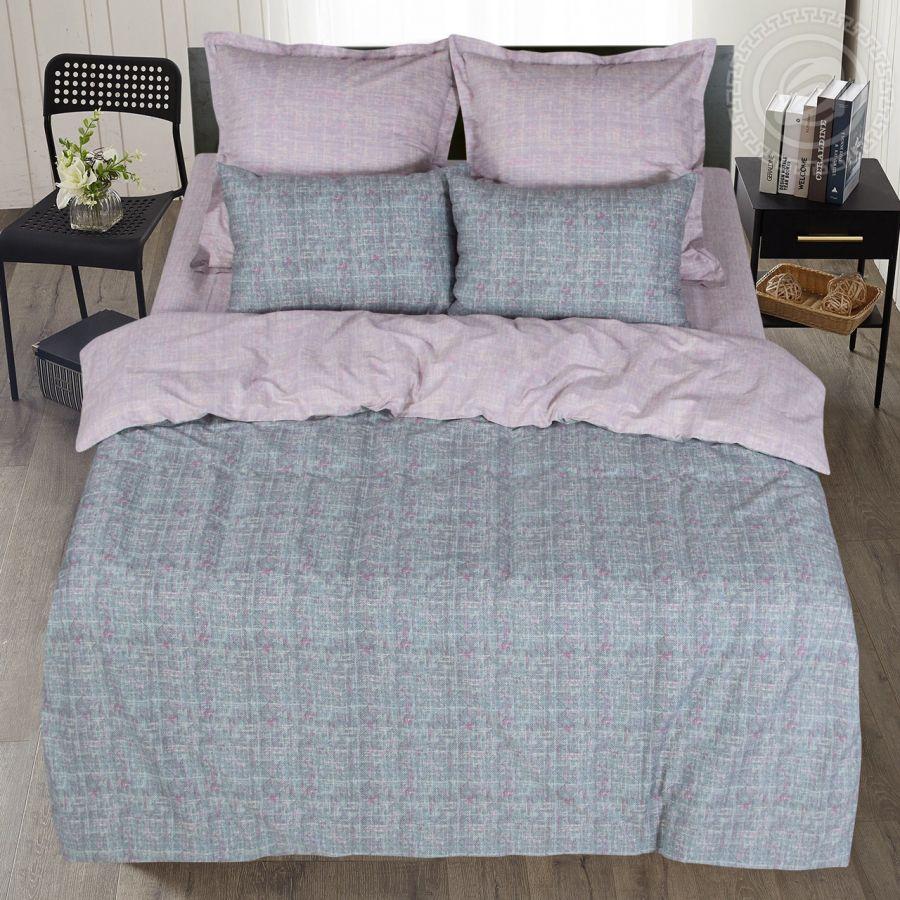 «Клаудиа» постельное белье Сатин 2-х спальный с евро
