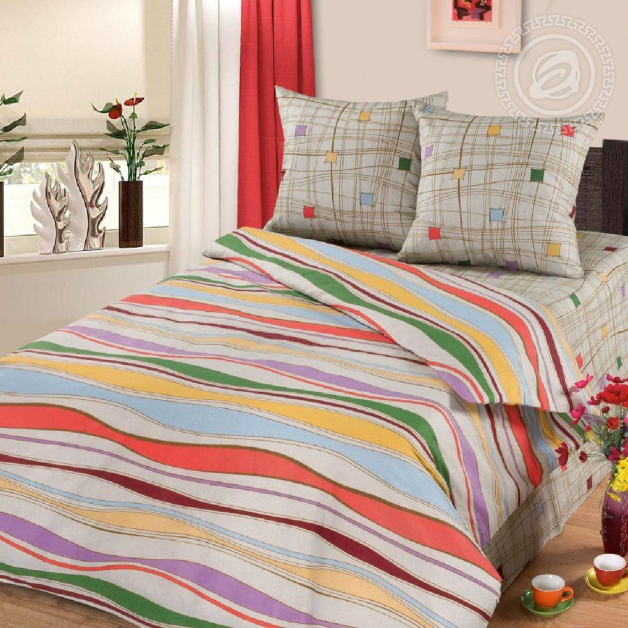 «Волна» (Премиум) постельное белье Бязь