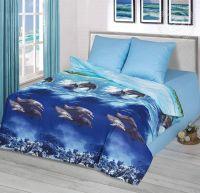 «Голубая лагуна» (Премиум) постельное белье Бязь