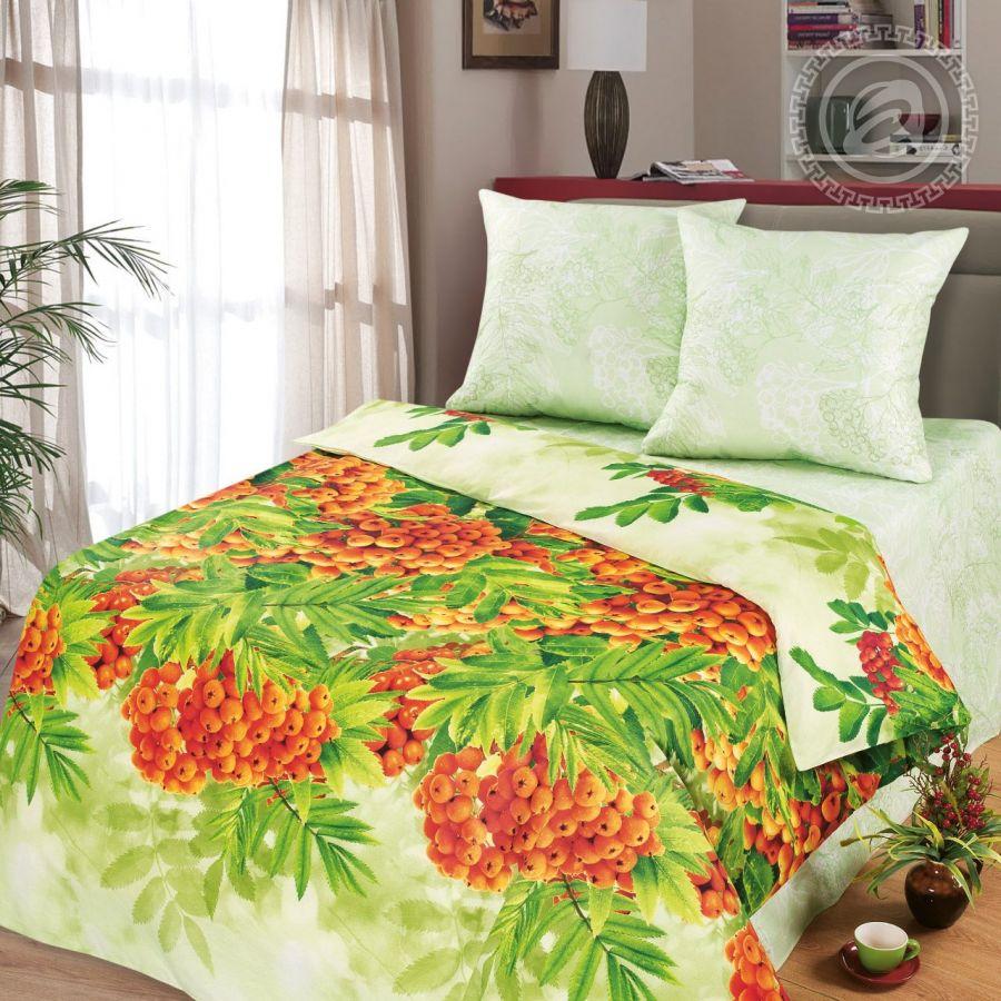 «Рябинушка» (Премиум) постельное белье Бязь