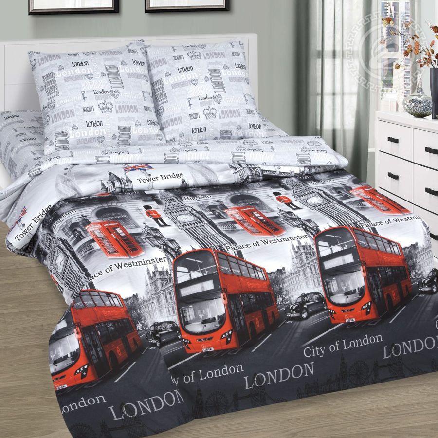 «Гринвич» (DE LUXE) постельное белье Поплин