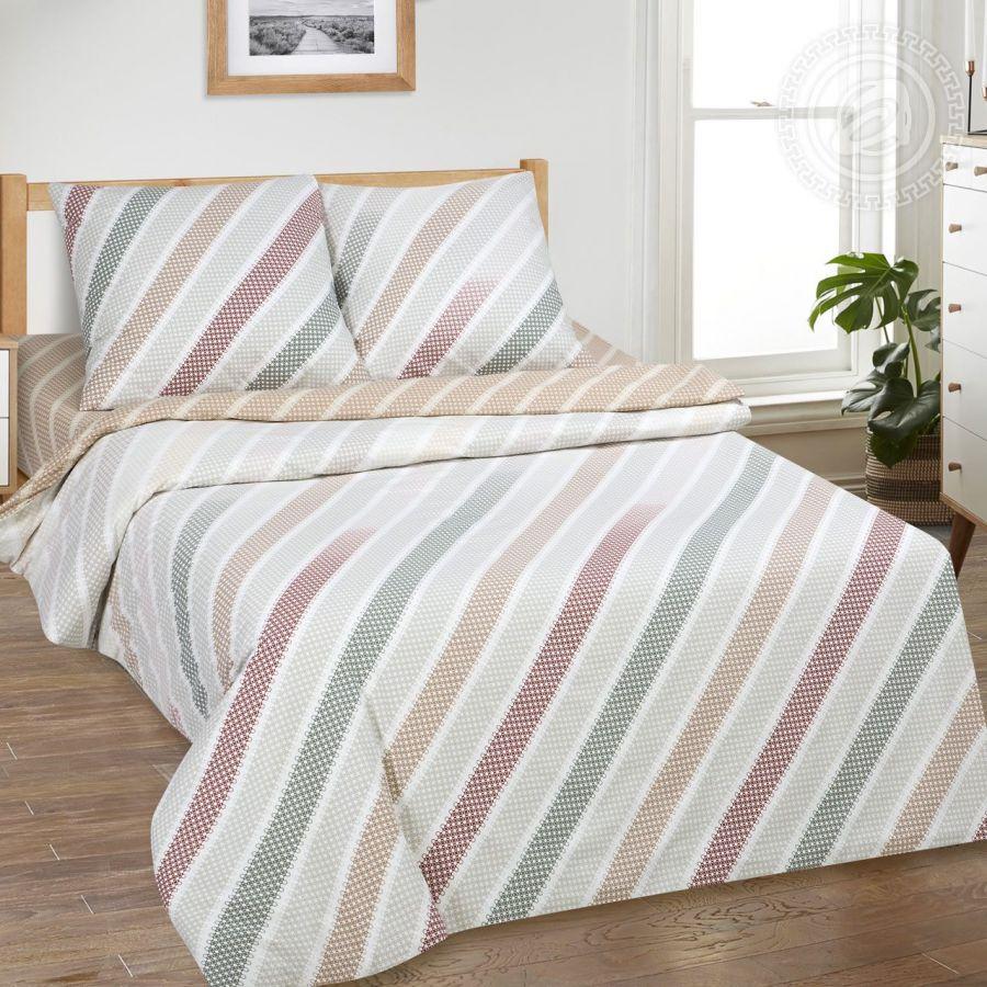 «Горизонт» (DE LUXE) постельное белье Поплин