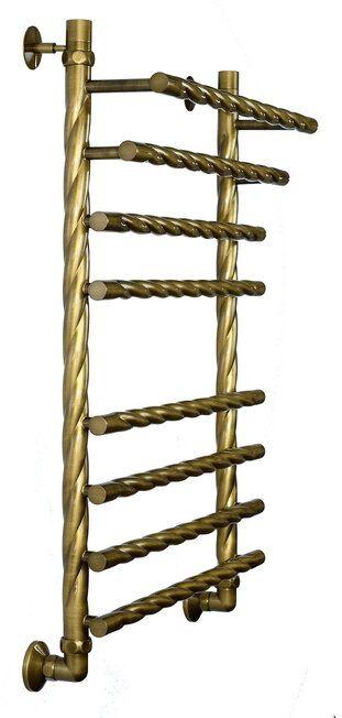 Полотенцесушитель ДВИН F braid 80/50 Состаренная бронза