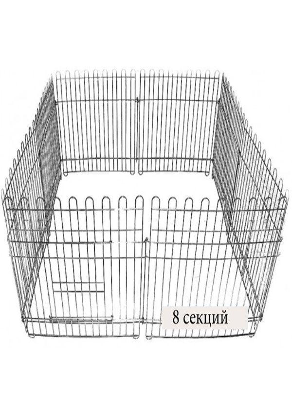 Вольер 8х65х95 см оцинкованный для собак