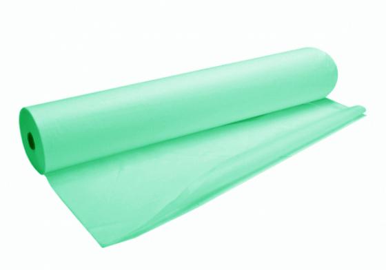 200*80 простыни (СМС 15) в рулоне №100 зеленые БРИЗ