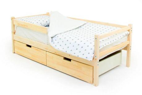 Деревянная кровать-тахта Svogen натуральный