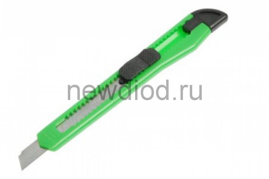 Нож TUNDRA универсальный пластиковый корпус, 9 мм