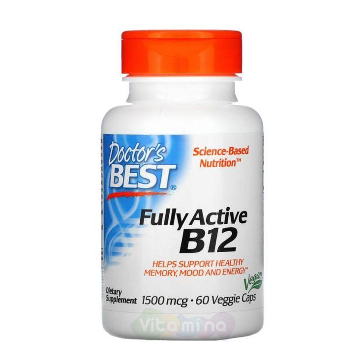 Doctor's Best Активный витамин B12 1500 мкг, 60 капсул
