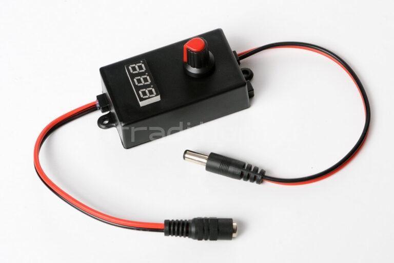 Регулятор скорости для Дистив с вольтметром