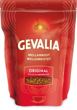 Кофе растворимый Gevalia 200г (мягкая упаковка)