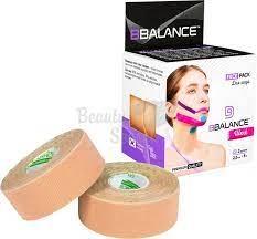 Кинезио Тейп BB Tape 2,5см*5м (Face Pack бежевый, 2 рул)