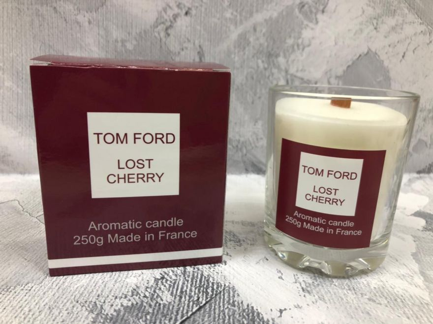 Свеча ароматическая парфюмерная Tom Ford Lost Cherry