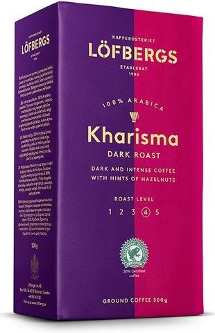 Кофе молотый Lofbergs Kharisma (4) 500г