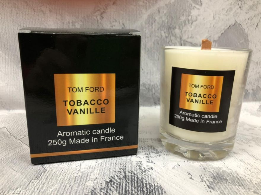 Свеча ароматическая парфюмерная Tom Ford Tobacco Vanille