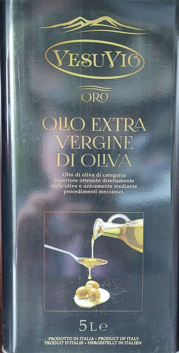 Масло оливковое Vesuvio Extra Virgin (первый отжим) 5л