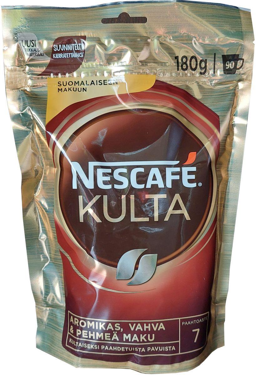 Кофе растворимый Nescafe Kulta 180г (мягкая упаковка)