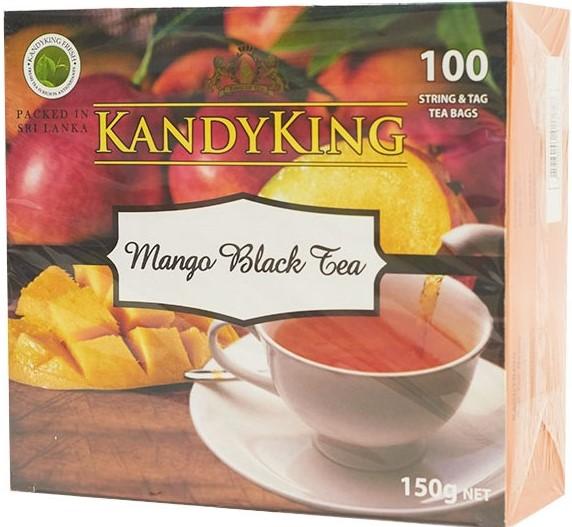 Чай Kandy King (черный чай манго) 110 пакетов