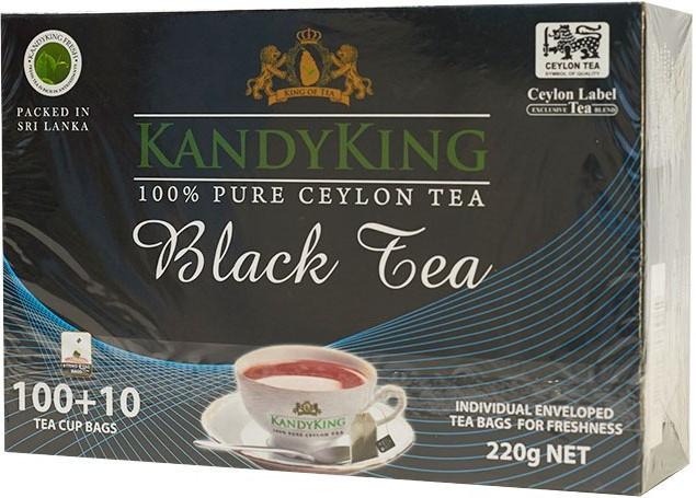 Чай Kandy King (черный чай) 110 пакетов
