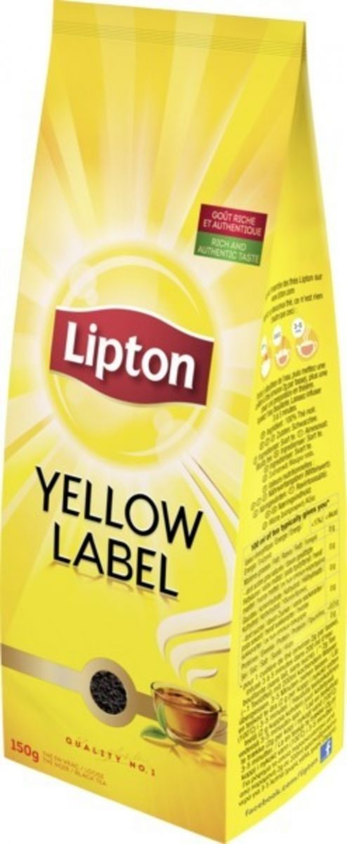Чай Lipton (черный чай) 150г