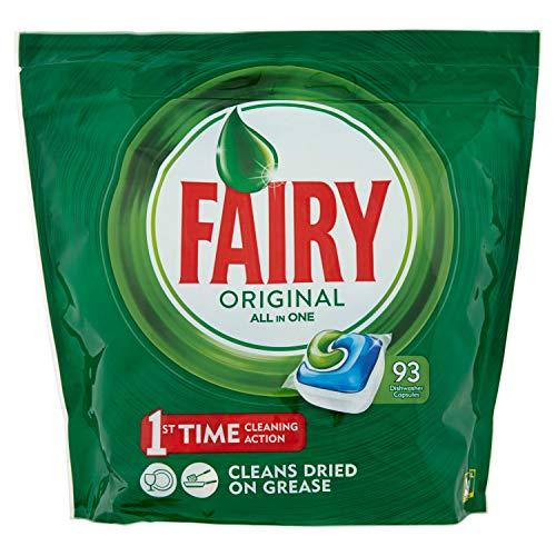 Таблетки для посудомоечной машины Fairy Original All-In-One 93шт