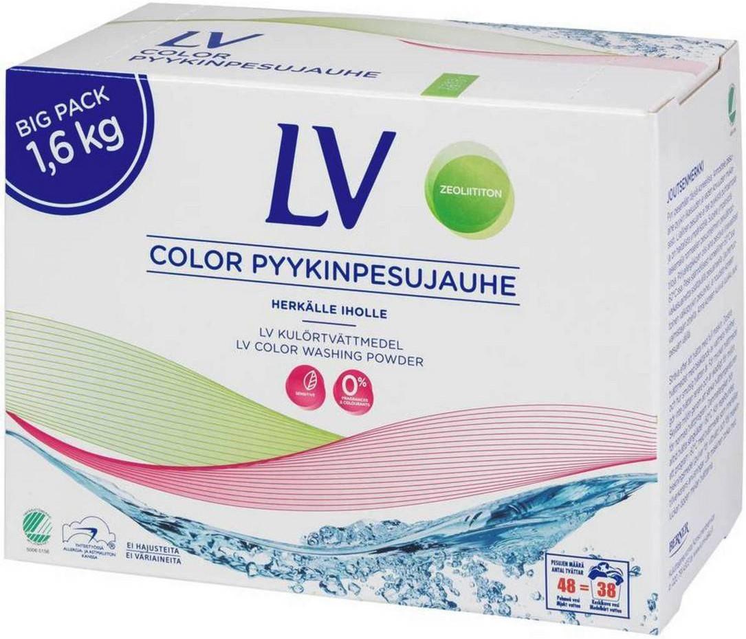 Стиральный порошок LV антиаллергенный (цветное белье) 1,6кг