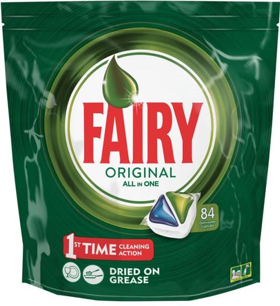 Таблетки для посудомоечной машины Fairy Original All-In-One 84шт